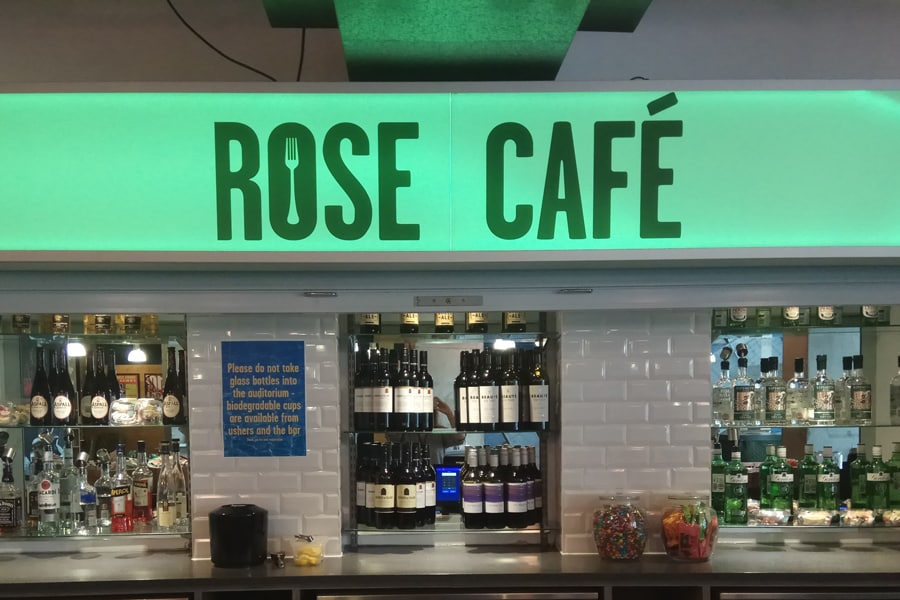 The Rose Theatre Kingston today announces its commitment to stop using single-use plastic within the venue as part of its continued efforts to become a greener organisation.