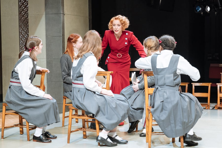 The Prime Of Miss Jean Brodie Review Donmar Warehouse