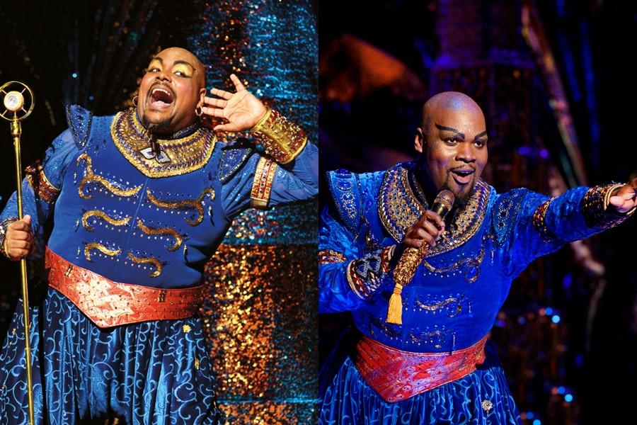 Genie Swap at Disney's Aladdin