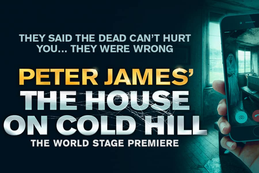 House On Cold Hill UK Tour Peter James