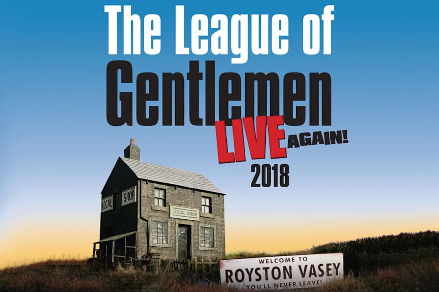 League Of Gentlemen Live Again