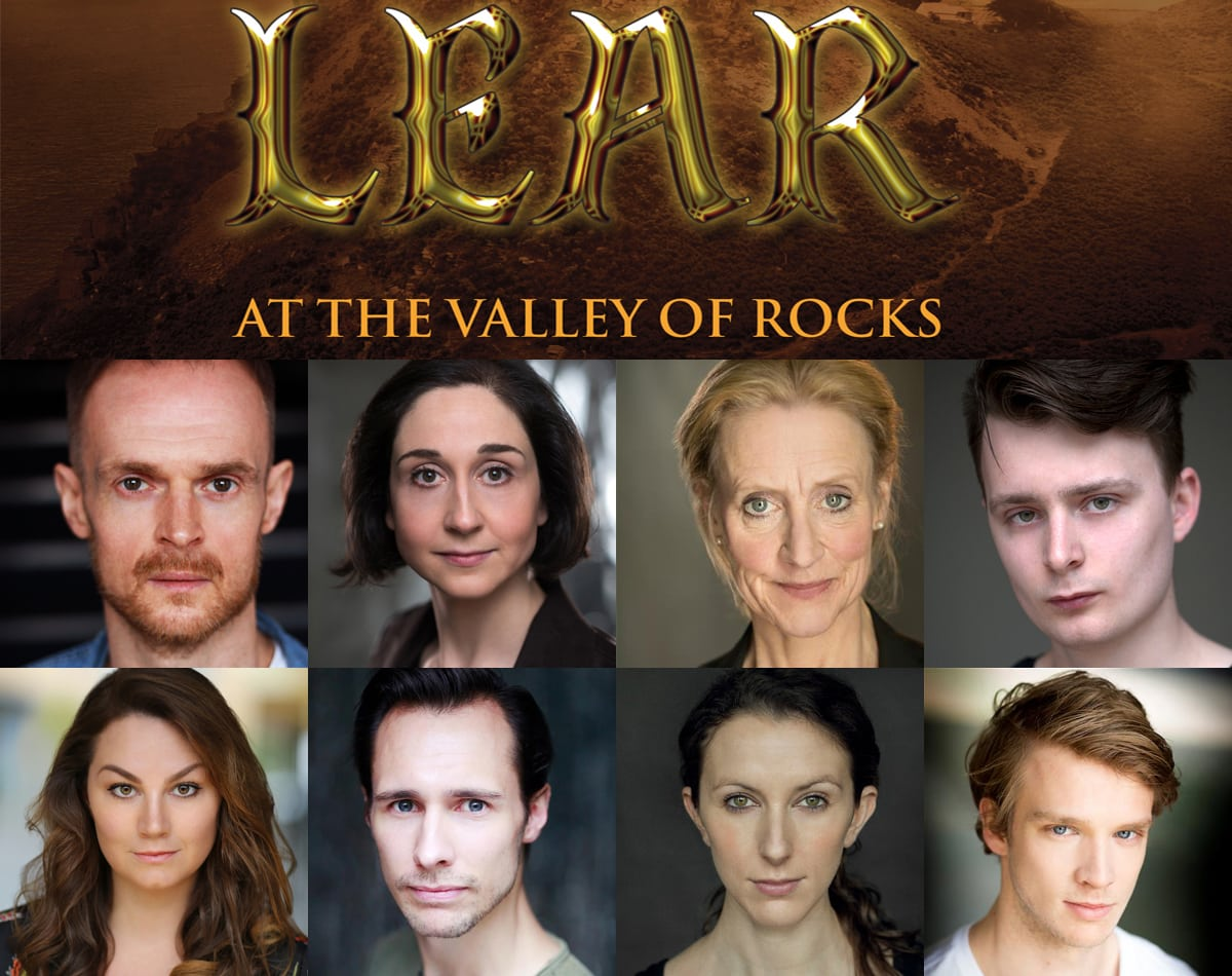 Pleasure Dome Theatre Company present Lear in the Valley of Rocks