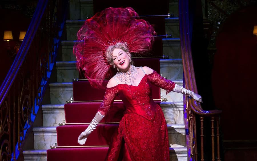 Bette Midler Hello Dolly! London
