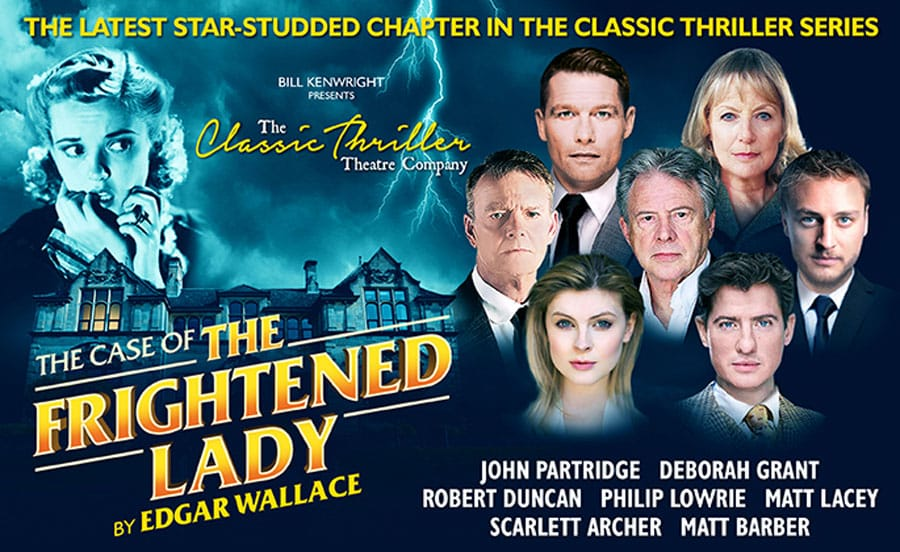 Case Of The Frightened Lady UK Tour