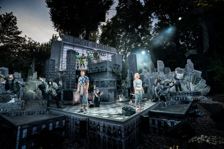 FIRST LOOK: Little Shop Of Horrors at Regent's Park Open Air Theatre