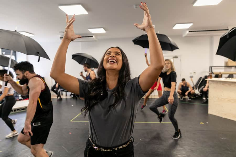 Rock of Ages Uk Tour Rehearsals
