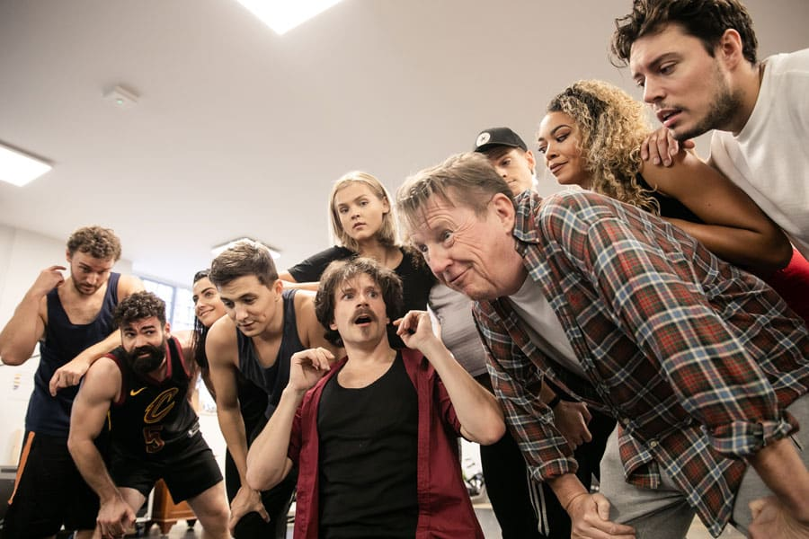 FIRST LOOK: Rock Of Ages UK Tour Rehearsals
