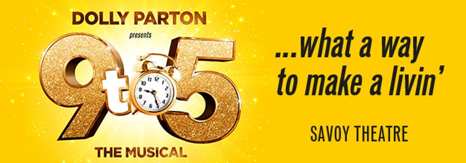 Dolly Parton's 9 to 5 the musical London tickets