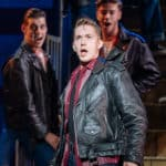 Dan Partridge Grease UK Tour