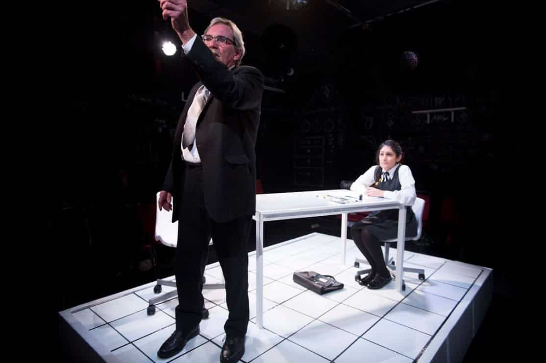 The Lesson review Hope Theatre London