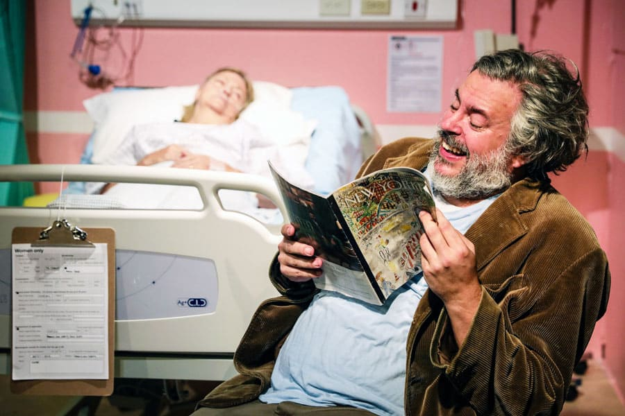 Cara Chase Rob Crouch Finborough Theatre