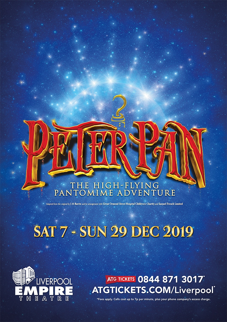 Peter Pan 2019 Panto Tickets in Liverpool 2019