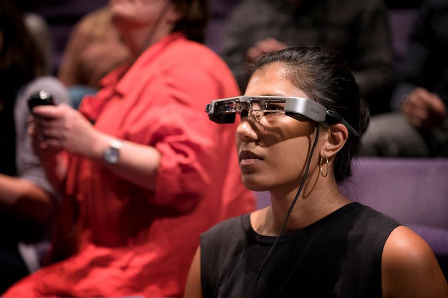Smart Caption Glasses National Theatre London