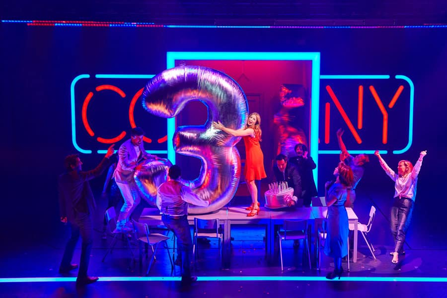 Company review Gielgud Theatre