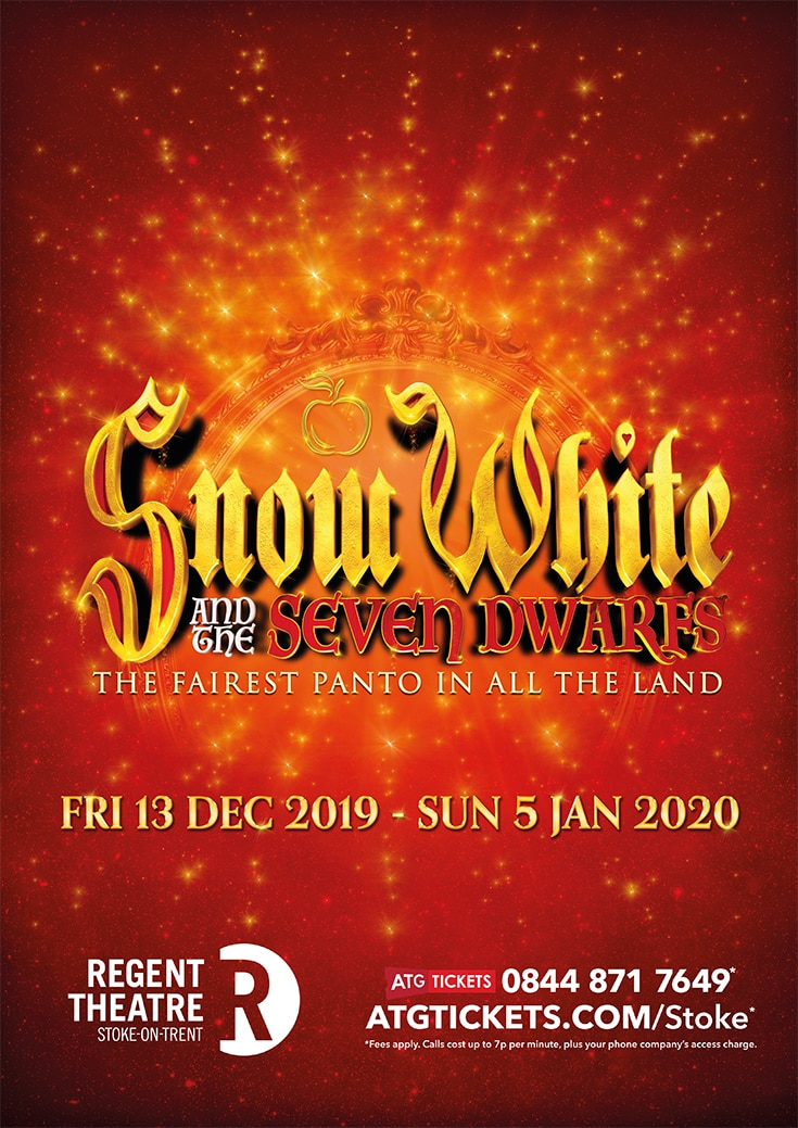See Snow White in Pantomime this Christmas in Stoke
