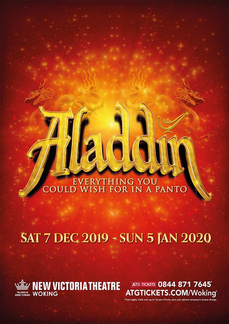 Aladdin Christmas Pantomime comes to Woking