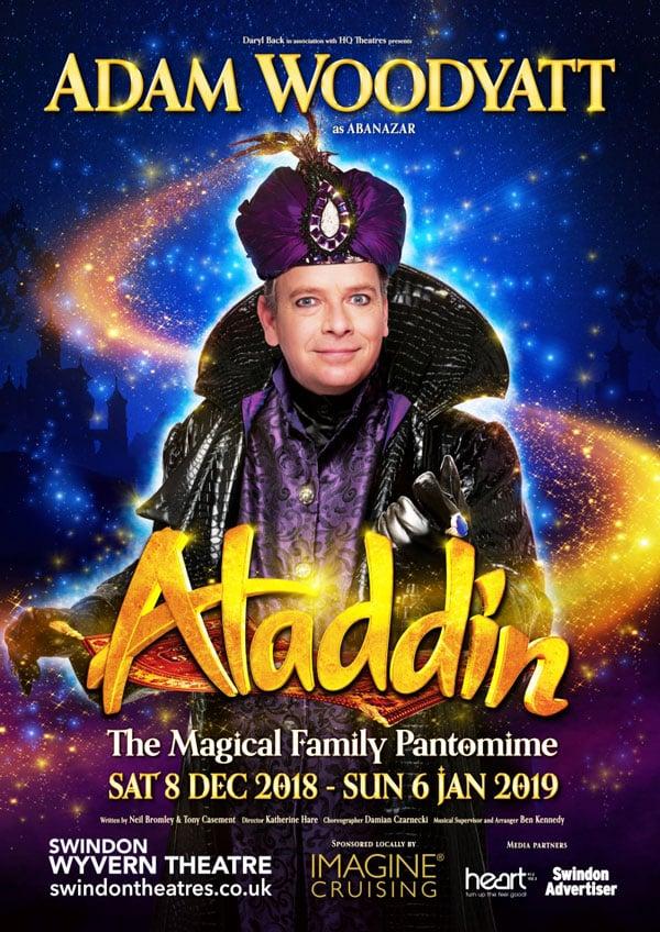 Aladdin Poster Swindon Pantomime 2018
