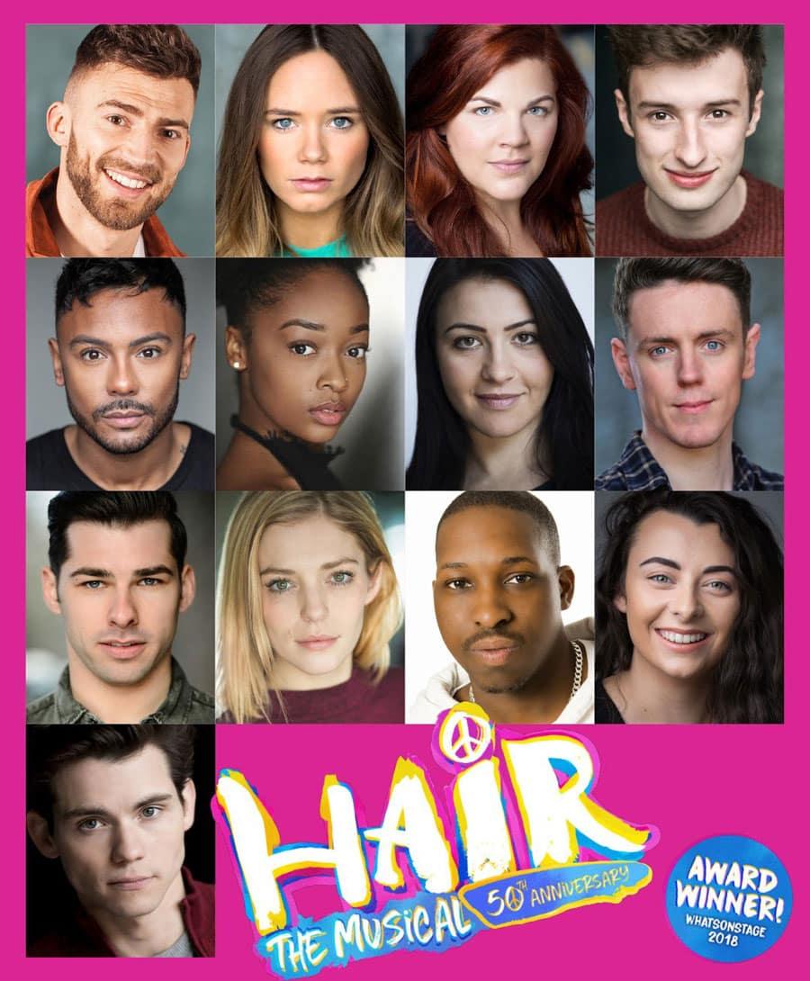Hair uk Tour Cast