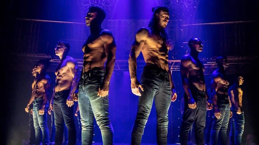 Channing Tatum Magic Mike Live London review Hippodrome Casino