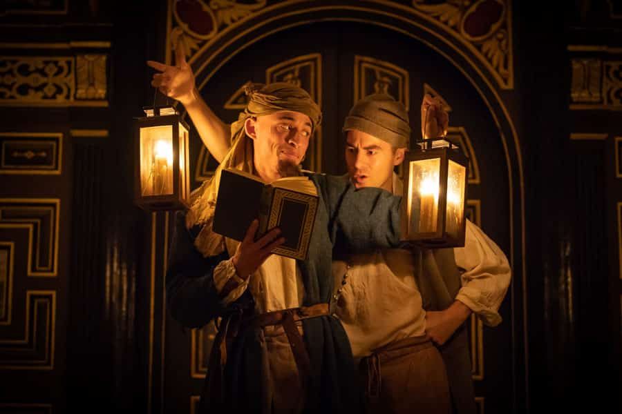 Doctor Faustus review Sam Wanamaker Playhouse