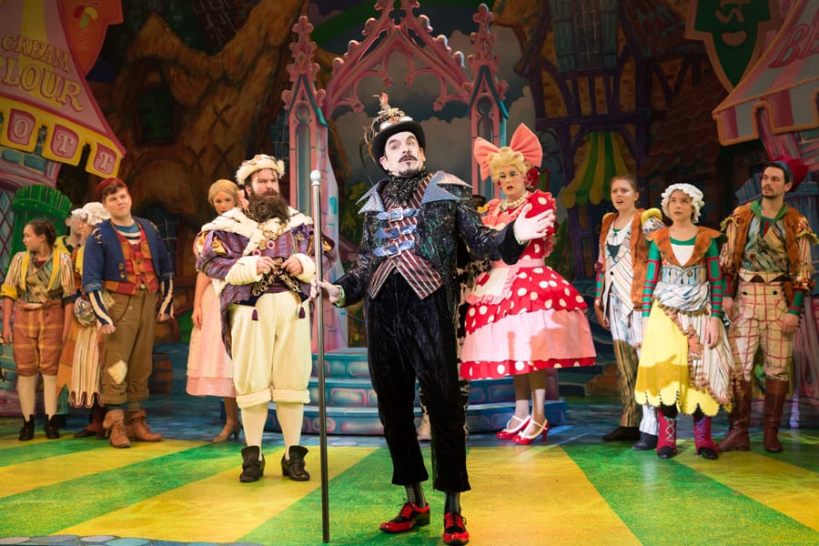 Jack and the Beanstalk review Mercury Theatre Colchester