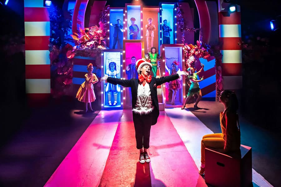 Seussical musical Southwark Playhouse