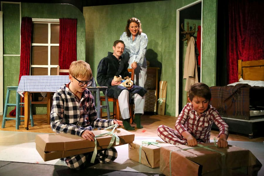 A Christmas Story review Waterloo East Theatre