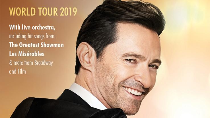 Hugh Jackman Tour Tickets