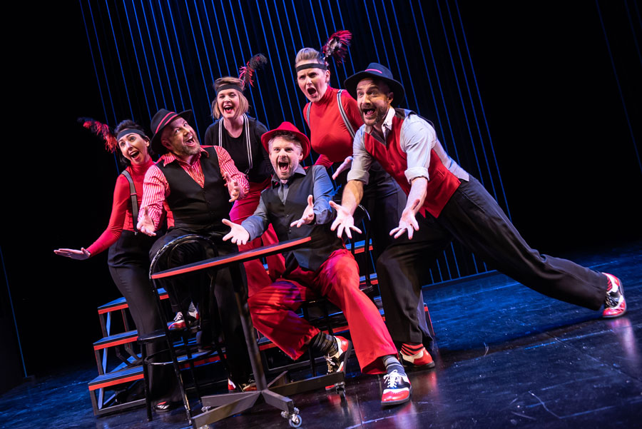 Showstopper Improvised Musical review The Other Palace