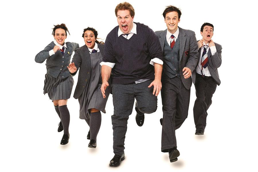 Mischief Theatre Groan Ups Vaudeville Theatre