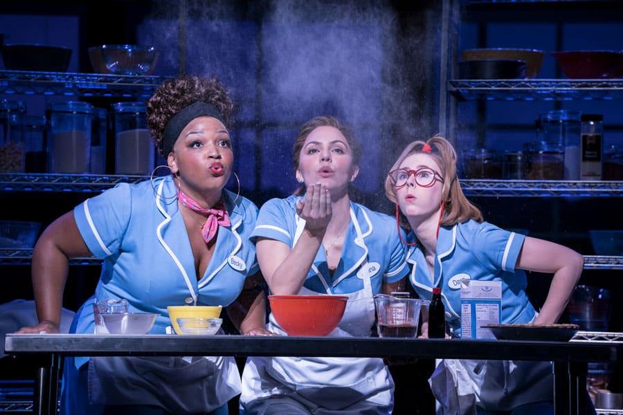 Waitress the musical London