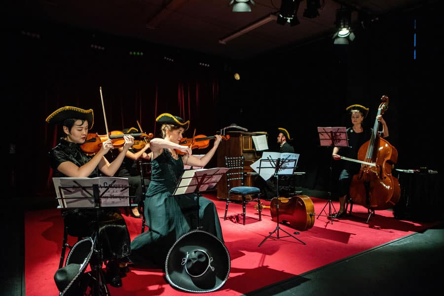 The Orchestra review Omnibus Theatre