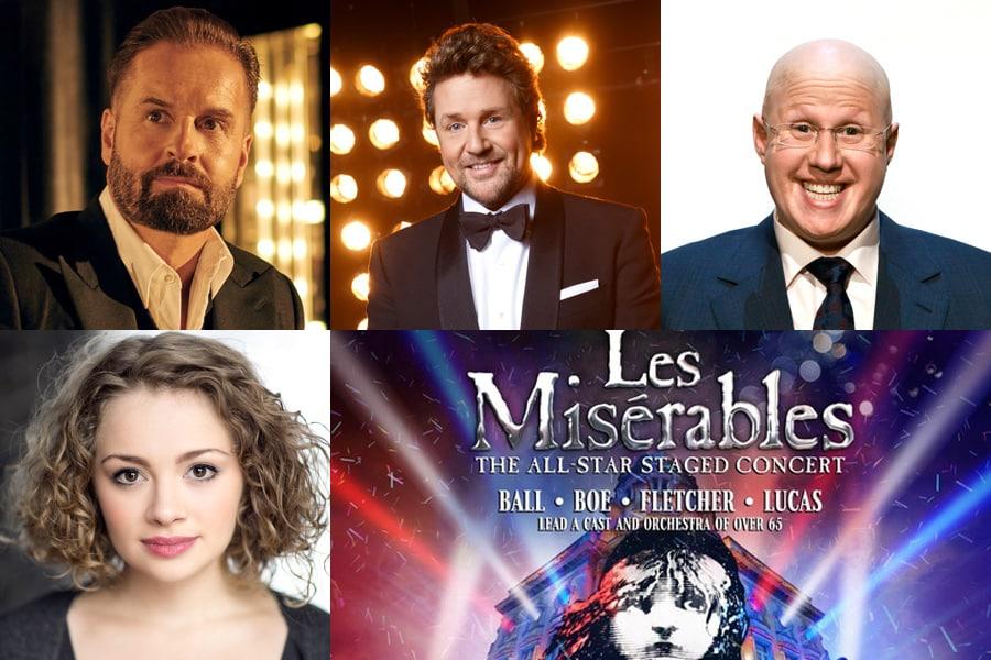 Les Miserables Concert Cast