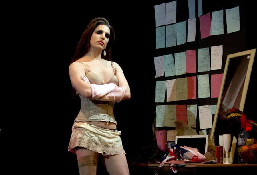 Lipstick review Omnibus Theatre London