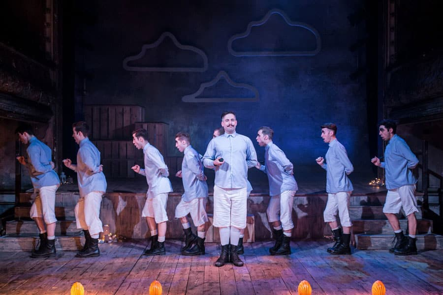 All Male Pirates Of Penzance review Wilton's Music Hall London