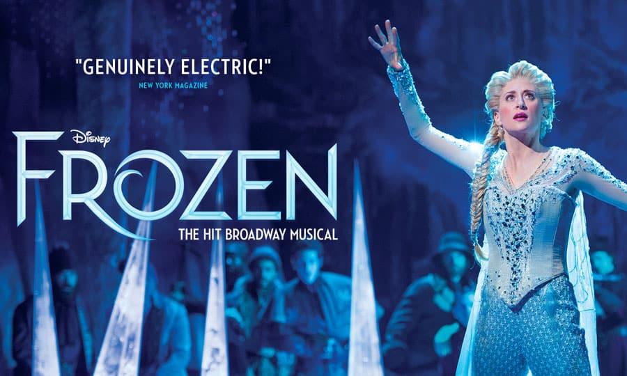 Disney's Frozen the musical West End 2020