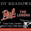 Mandy Meadows Piaf The Legend Crazy Coqs