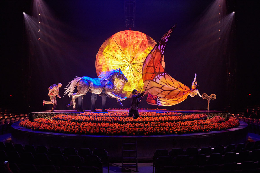 Cirque Du Soleil Luzia tickets Royal Albert Hall