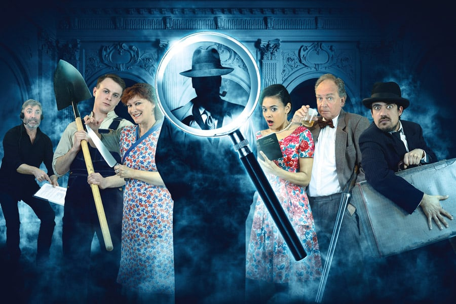 Whodunnit Unrehearsed Park Theatre London