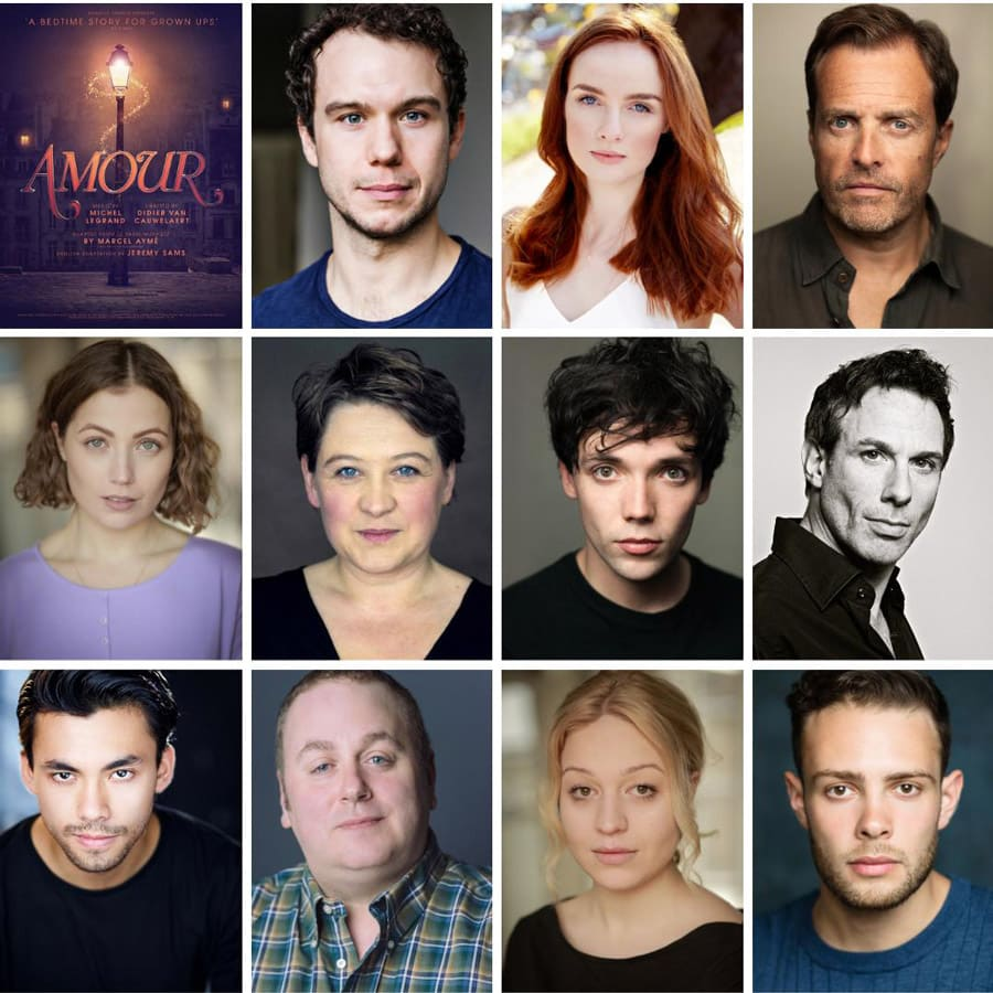 Amour musical cast Charing Cross Theatre