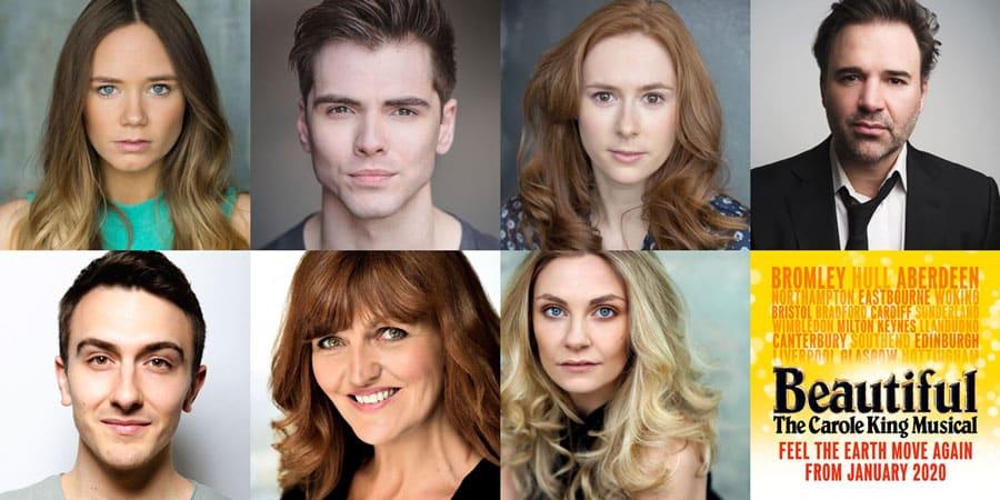 Beautiful UK Tour Cast 2020