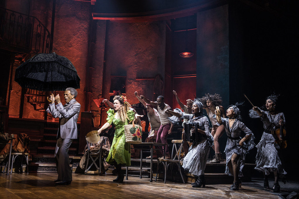 Hadestown tickets Broadway