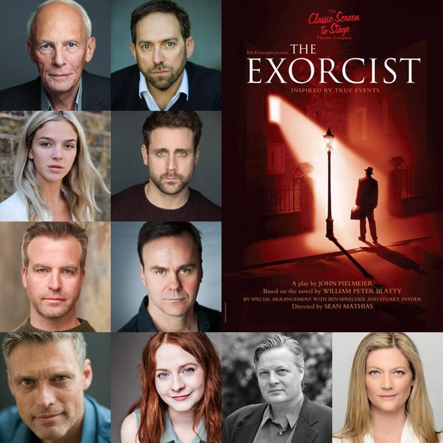 The Exorcist UK Tour cast