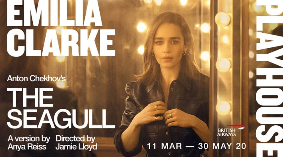 Emilia Clarke The Seagull Playhouse London