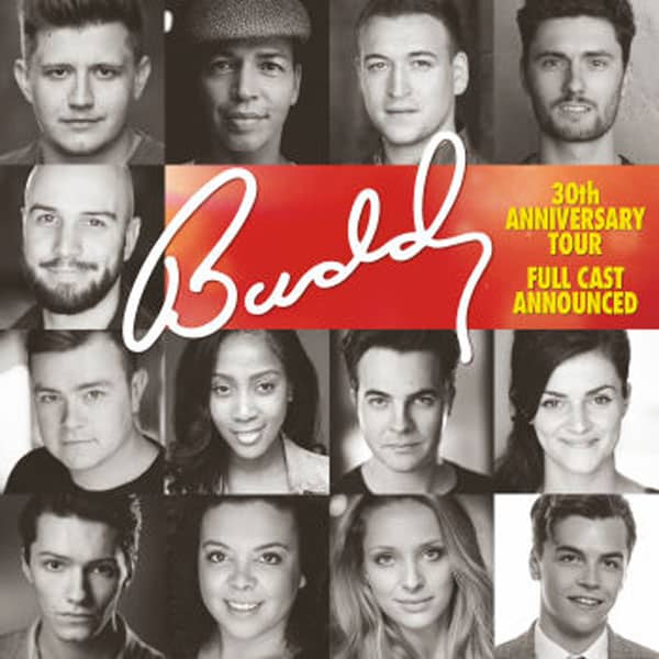 Buddy Uk Tour cast