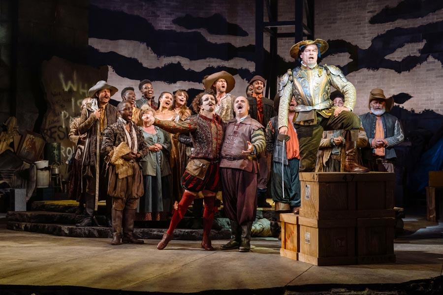 Man Of La Mancha review London Coliseum