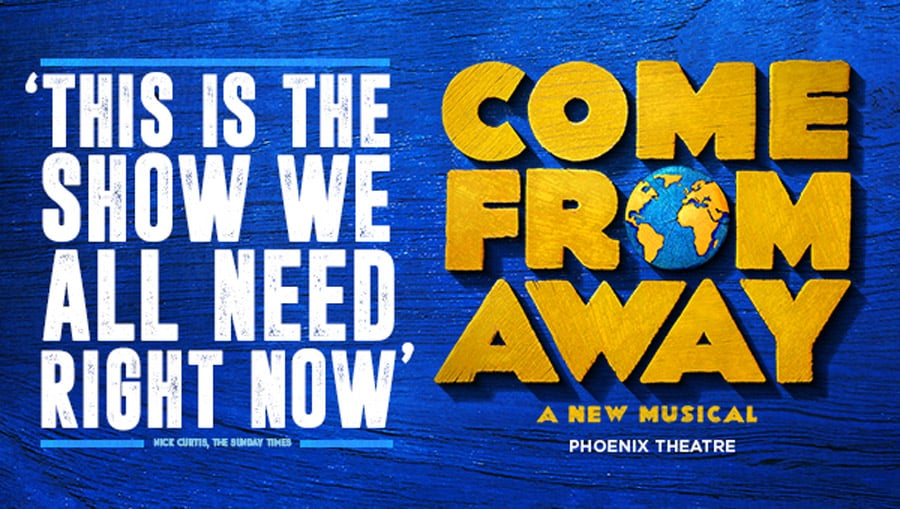 Come From Away musical