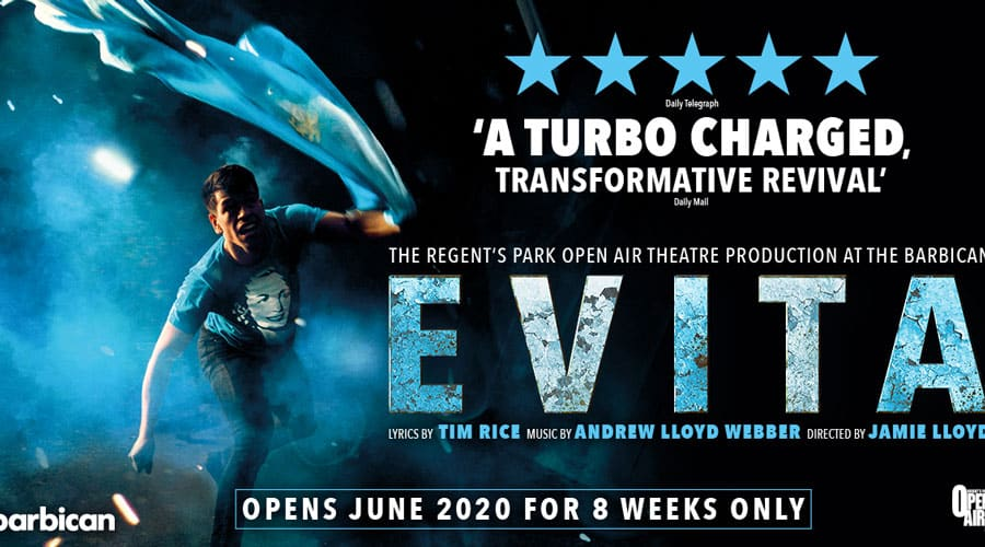 Evita Barbican Theatre Cancelled
