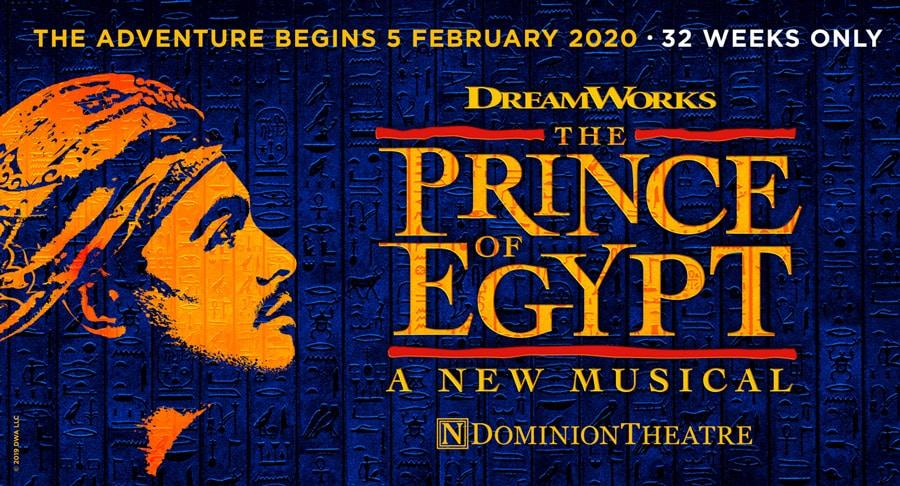 Prince Of Egypt tickets Dominion Theatre