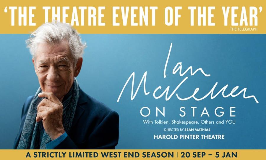 Ian McKellen Live On Stage